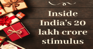 India's 20 lakh crore stimulus package